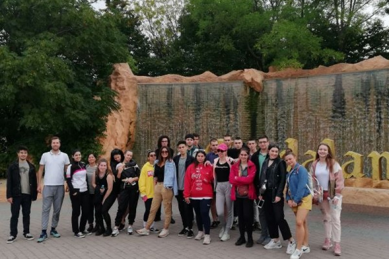 Gymnasium SSST fourth year students' memorable time in Italy!