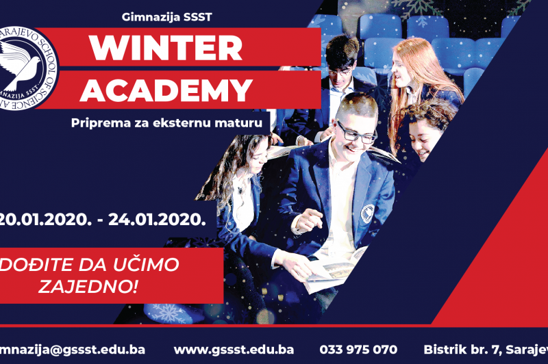 The Gymnasium SSST Winter Academy 2020: Enrolling now