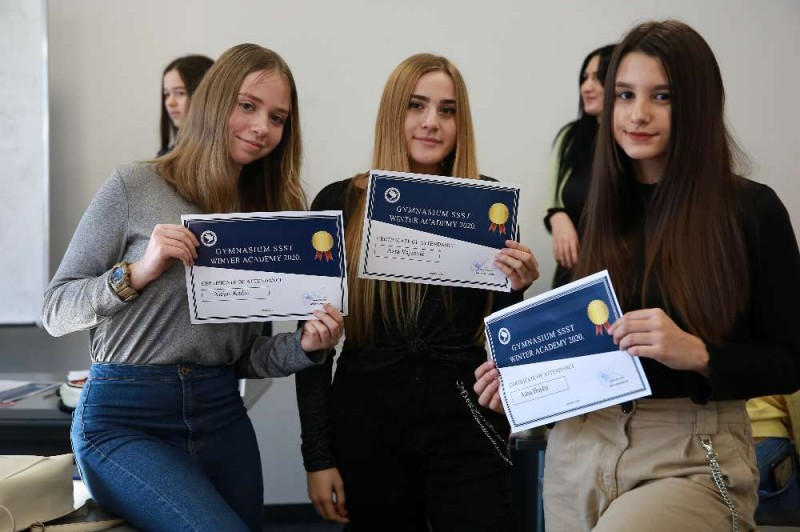 Certificate award ceremony marks the end of another GSSST Winter Academy