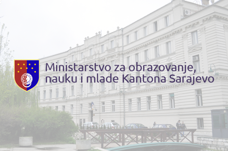 NOTIFICATION ON THE START OF THE 2020/2021 SCHOOL YEAR IN SARAJEVO CANTON FOR PRIMARY AND HIGH SCHOOLS