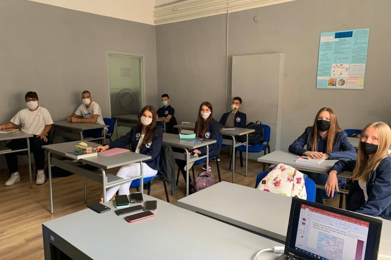 Blended learning at the SSST Gymnasium