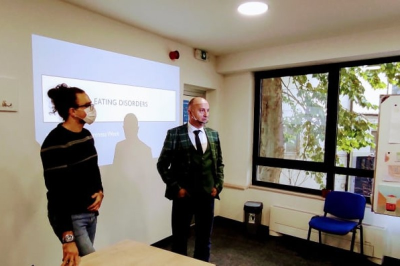 """Lecture by """"Medica"""" students rounds off Mental Health Week at GSSST"""