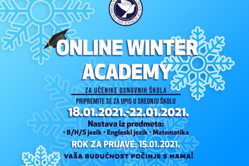 ONLINE WINTER ACADEMY 2021: How to apply